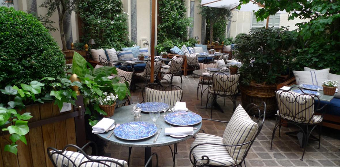 Restaurant terrasse for Restaurants paris avec terrasse ou jardin
